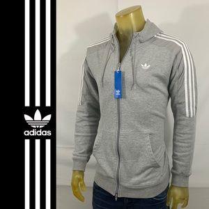 Adidas Original Zip Hoodie Jacket